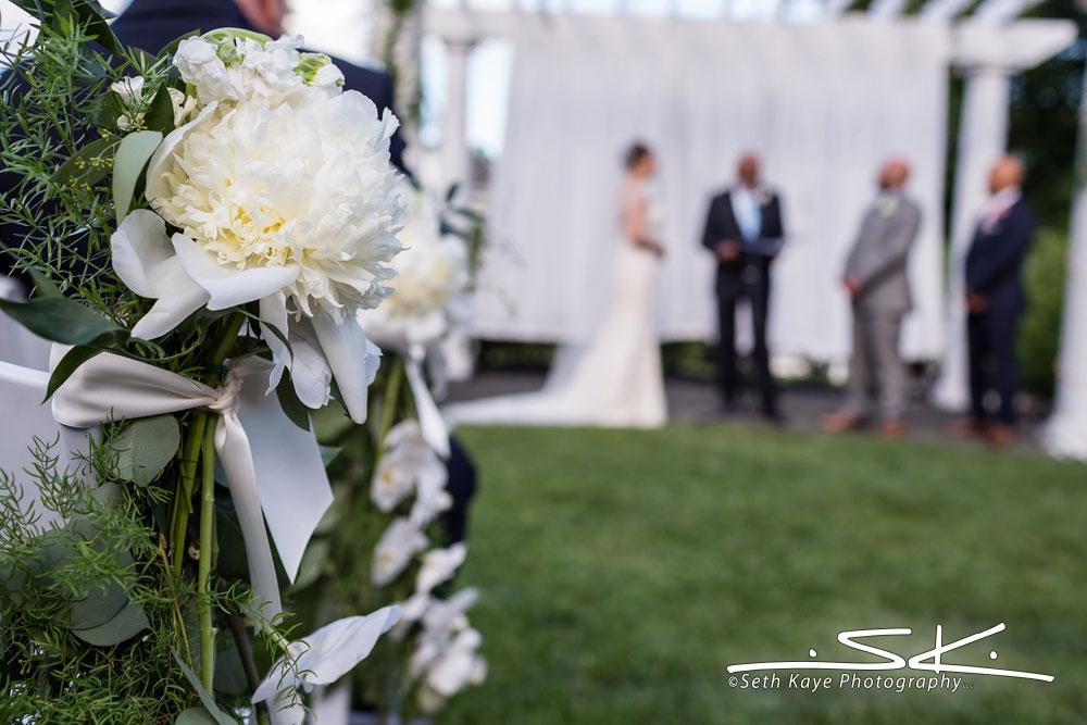 ceremony flower detail