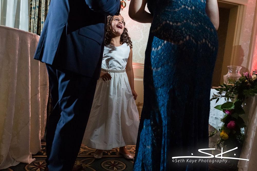 daughter dancing