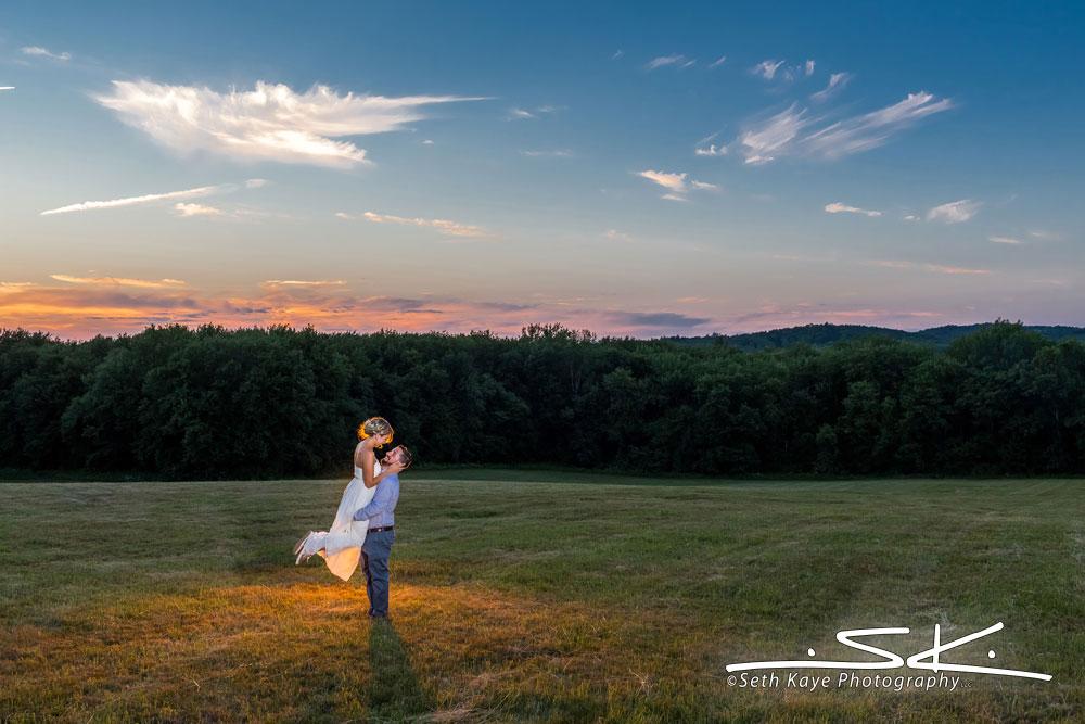 Misty Meadows Farm Wedding : Megan + Chad