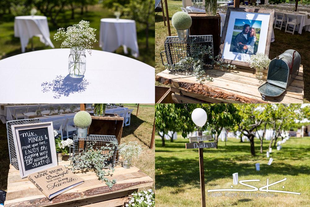 Misty Mountain Farm wedding details